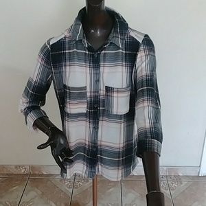 3 for 25 Flannel top